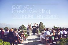 Wonderful tips for planning a wedding on a small budget!