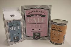 Pams Premium Packaging by Courtney Hansen, via Behance