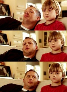Tom Hardy's facial expressions in This Means War (those are all the expressions I made watching this AWFUL film - why did Tuck have to be soooo damned irresistable? Reese's character is an idiot, and holyhell how come Chris Pine, who is always delicious, looks so... unappealing next to Tom in this movie. Oh, that's right... because Tom's how all guys should look!)