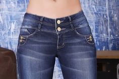 Oferta de Regreso a la escuela! Obtenga $10 dólares de descuento en la compra de $85 o más en www.pfcolombianjeans.com utilizar código: (back10) Al paga Cute Jeans, Denim Jeans, Skinny Jeans, Clothing Co, Trousers, Pants, Blue Denim, Perfect Fit, Thighs