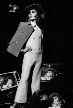 Françoise Dorléac - Vogue 1967 Photographed by; David Bailey