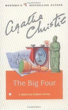 The Big Four by Agatha Christie. Berkley Books edition.