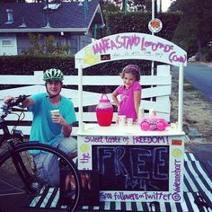 """An 8-year-old girl has vowed to fight against human trafficking — one lemonade at a time.  Vivienne Harr has set up a traveling homemade lemonade stand to raise $150,000 for Not For Sale, a non-profit corporation working to end slavery across the world.  """"There are kids just my age who don't get to have summers or sell lemonade or enjoy the sunshine,"""" Harr said in a statement. """"They work all day with no hope. I want to give them hope."""""""