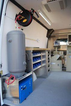 Ladder Storage, Van Storage, Ladder Racks, Trailer Storage, Commercial Van, Commercial Vehicle, Van Interior, Interior And Exterior, Volkswagen Bus Interior
