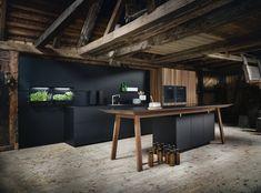 Wohnzimmerwand oder Küchenzeile? Kochelemente wie das Modell der Marke...