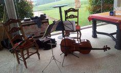 Violín y violoncello