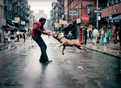Breakdancing, rapping, street New York was fertile ground for a developing hip-hop culture, and Brooklyn-born photographer Jamel Shabazz was