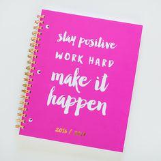 2016-17 Mid Year Legit Weekly Planner - Start Planner