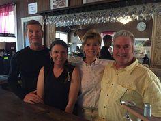 Austin Chamness, Stacey Wardrup, Sheila Allen, Adrian Allen - Blue Duck Winery