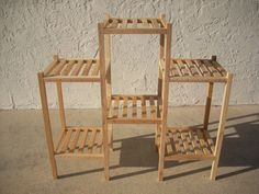 Three Section Plant Stand