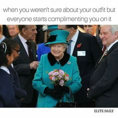This is true because whn my mom tells me to wear something but i dont like that something and people conpliment me i start thinking about listening to my mom