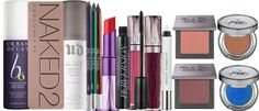 Urban Decay fans rejoice because we're giving away the ultimate bundle of your favorite makeup products. With a collection that includes their famous NAKED2 palette as well as a wide assortment of lip and cheek colors, setting sprays, makeup pencils and mascara, there's no limit to the amazing looks you can create.
