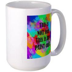 Painters Cup Tea Mugs on CafePress.com