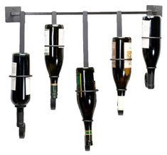 Wine Racks - Oenophilia Bottle Gallery Wall Wine Rack  5 Bottle * Click image for more details.