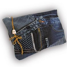 A personal favorite from my Etsy shop https://www.etsy.com/listing/587544301/recycled-old-jeans-vintage-splashed