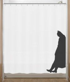 Batman curtains - so cool