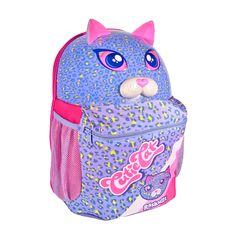 The 3-D Cutie Cat Backpack is the perfect pack for excursions. Description from raskullz.com. I searched for this on bing.com/images