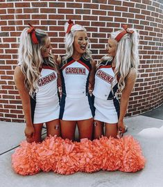 Cheer Uniforms High School Cheerleading Back To School Outfits cheer Cheerleading high School uniforms High School Cheerleading, Cheerleading Cheers, Football Cheer, Cheerleading Pictures, Cheer Stunts, Cheerleading Stunting, Softball Pics, Cheer Camp, Volleyball Drills
