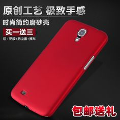Luxury Matte Hard Rubber Case Cover For Samsung Galaxy Mega 6.3 I9208 I9200 Plastic Case + Free Screen Film