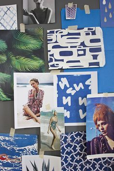 A Creative Studio Inspiration Boards, Color Inspiration, Minimal Photography, Surfer Girl Style, Branding, Office Art, Creative Studio, Design Process, Graphic