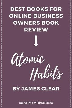 James Clear doesn't just talk about how to change, he geeks out on the science behind WHY his evidence-based approach works. Business Tips, Online Business, Best Email Marketing Software, Work From Home Moms, Professional Development, Make Money Blogging, Book Recommendations, Geeks, Book Review
