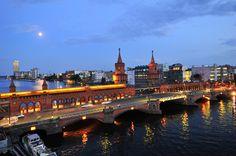El puente Oberbaum de Berlín