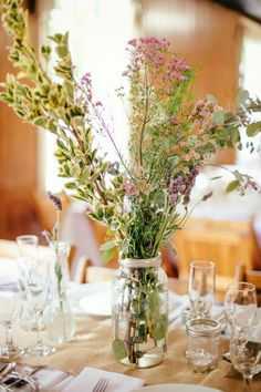 Vintage Lavender Wedding in Maine | Sunglow Photography