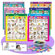 Super Duper Publications American Sign Language Bingo Game Educational Learning Resource for Children Learn Sign Language Free, Sign Language Games, Sign Language For Kids, Sign Language Phrases, Sign Language Interpreter, American Sign Language, Language Activities, Foreign Language, Language Arts