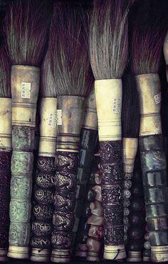 ::Chinese Calligraphy Brushes