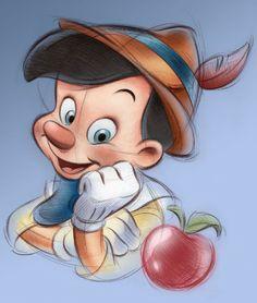 pedro astudillo disney   Pinocchio: Personality by Pedro Astudillo