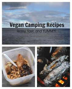 Vegan Camping Recipes for easy, delicious, and quick plant based means!  - Two City Vegans