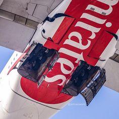 Emirates Airbus A380 reg A6-EOF gear retracting after departing Dubai