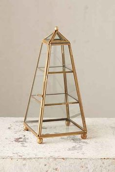 Magical Thinking Tower Glass Box $28