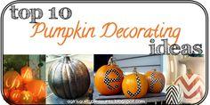 10 Ways to Spice Up Your Halloween Pumpkins!     A Girl's Guilty Pleasures