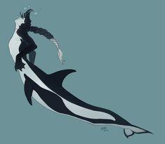 Oooooohhhhh dear lord yes Mermaid Drawings, Mermaid Art, Magical Creatures, Fantasy Creatures, Historia Natural, Ange Demon, Mermaids And Mermen, Creature Concept, Merfolk