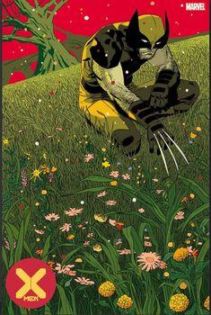X-Men Vol 5 Marcos Martin variant Wolverine Art, Logan Wolverine, Comic Book Covers, Comic Books Art, Comic Art, New Wallpaper, Iphone Wallpaper, Old Man Logan, Geek Art