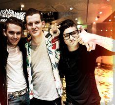 love these boys - zedd, dillon francis, skrillex