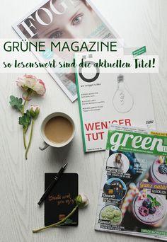 Heute zeige ich euch 3 Magazine, die nachhaltige Themen spannend und ansprechend aufbereiten! #nachhaltigkeit #nowaste #zerowaste #magazines #sustainable #sustainability #reading #green #eco #öko #chic #glamour #lifestyle #fashion #beauty #food #essen #rezepte #kleidung #produkte