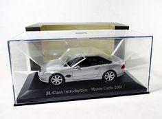 Minichamps R230 Mercedes-Benz Silver SL-Class Dealer Intro Monte Carlo 2001 1:43 #Minichamps #MercedesBenz