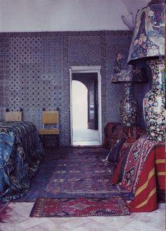 David Seidner: Nureyev's house, Li Galli (House & Garden, August 1992).