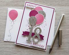 16th Birthday Card, Birthday Cards For Her, Handmade Birthday Cards, Diy Birthday, Teenage Girl Birthday, Teenager Birthday, Teenage Girl Gifts, Teen Gifts, Brother Birthday