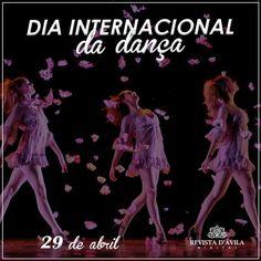 Dançar faz bem para a alma feliz dia da dança!