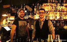 Interview des deux barmen parisiens à suivre : Franck Conti et Clément Sargeni de Grazie