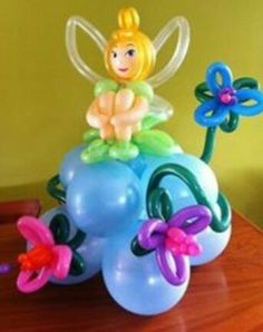 Tinkerbell Balloon Sculpture