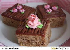 Cuketové řezy Jana Treats, Sweet, Food, Sweet Like Candy, Candy, Goodies, Essen, Meals, Sweets