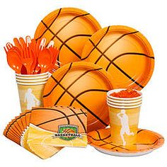BASKETBALL PARTY STANDARD KIT for Noah (ideas)                                                                                                                                                                                 More