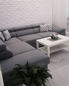 Mój Ci on nareszcie jest i jest dokładnie taki jaki sobie wymarzyłam #narożnik #salon #duzypokoj #wystrojwnetrz #wystrójwnętrz #białewnętrza #dekoracjedomu #dekoracje #homedesing #mjakmieszkanie #mojdom #czterykaty #interior #interiordesign #lifestyle #sweethome #decor #homedecor #skandynawskistyl #minimalizm #nowoczesnystyl #dekor #instahome #instahomedecor #pepco #ikea #ikeapolska #restodesing #desing #desinginterior
