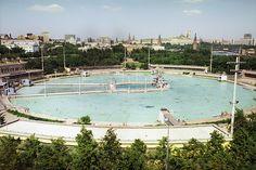 Бассейн «Москва», 1975 год