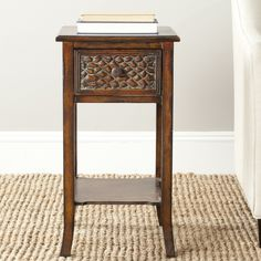 Safavieh Ernest Dark Brown Accent Table - Overstock Shopping - Great Deals on Safavieh Nightstands