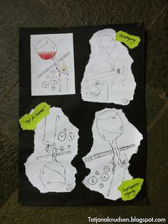 Meet The Creative Part of Me : Tegneøvelser - trin-for-trin